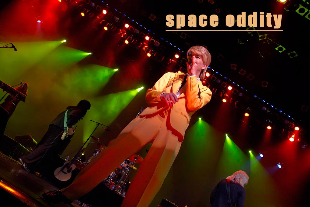 Space Oddity band-las vegas